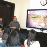 A Talk with Professor Robert Bungiro at a Faculty Fellows Event