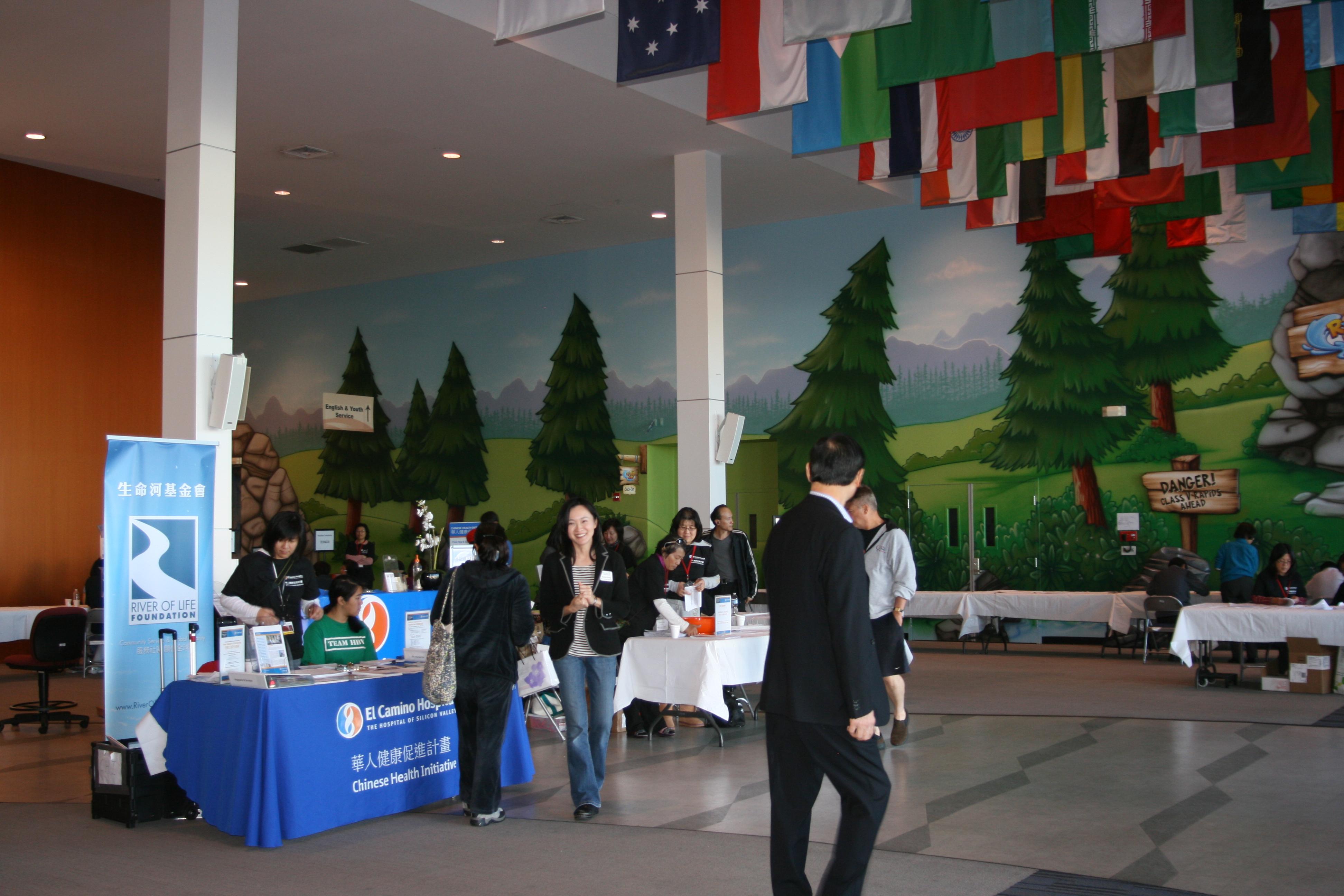 Screening for Hepatitis B: El Camino Hospital Health Fair