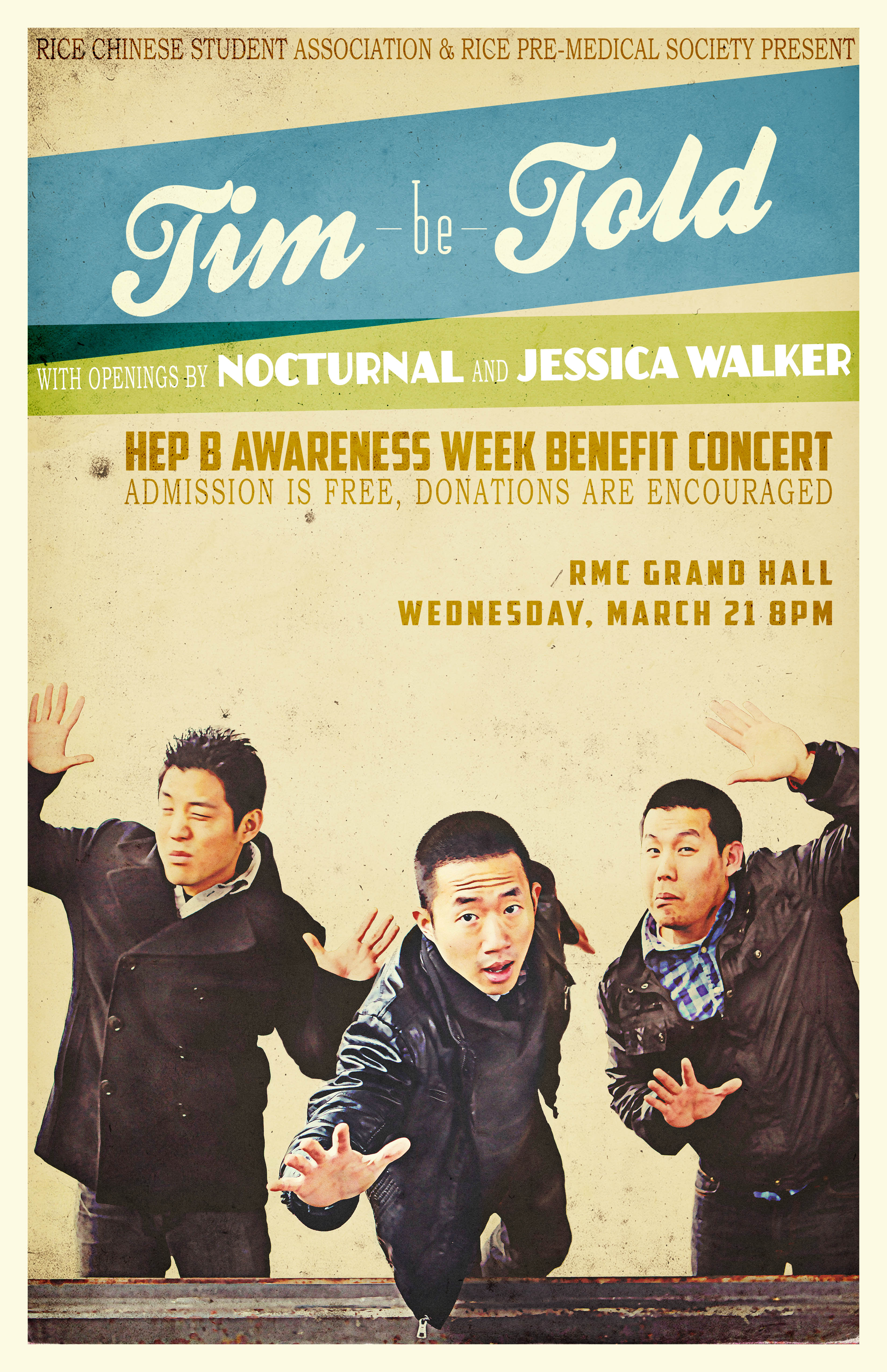HepB Benefit Concert ft. Tim Be Told!