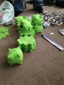 plushie making